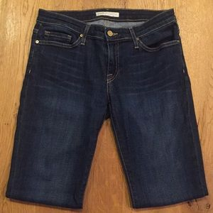 "Joie Jeans Mid-Rise Skinny ""Ravine"" Wash"